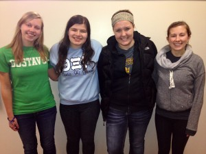 Psi Chi Officers Feb 15